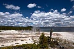 USA - Yellowstone NP - storslagen prismatisk pöl Royaltyfria Foton