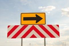 USA znaki ostrzegawczy dla kierowców Zdjęcie Royalty Free