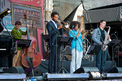 Usadba festiwal jazzowy Zdjęcia Stock