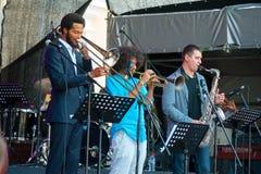 Usadba festiwal jazzowy Zdjęcie Stock