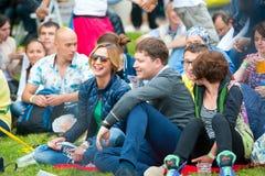 Usadba festiwal jazzowy Zdjęcie Royalty Free