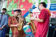 Usadba Jazz Festival Imagen de archivo libre de regalías