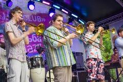 Usadba Jazz Festival Stock Foto