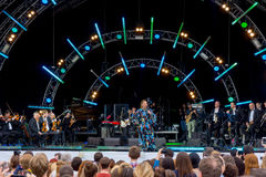 Usadba Jazz Festival Fotos de archivo libres de regalías