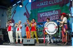 Usadba Jazz Festival Stock Image