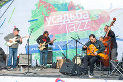 Usadba Jazz Festival Royalty Free Stock Photos