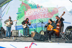 Usadba Jazz Festival Stock Photo