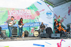 Usadba Jazz Festival Royalty Free Stock Photography