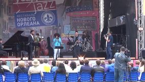 Usadba Jazz Festival stock video footage