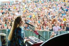 Usadba Jazz Festival Royalty Free Stock Images