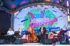 Usadba Jazz Festival Royalty Free Stock Images