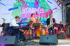 Usadba Jazz Festival Royalty Free Stock Photo