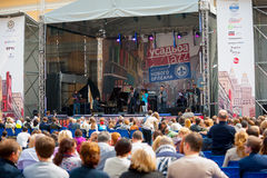 Usadba Jazz Festival Stock Images