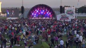 Usadba Jazz Festival stock footage