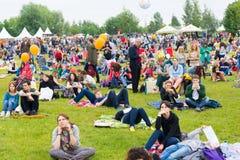 Usadba Jazz Festival Stock Images