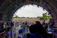 Usadba Jazz Festival Royalty Free Stock Image