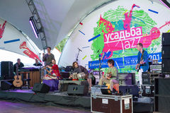 Usadba Jazz Festival Stock Photography