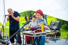 Usadba Jazz Festival Royalty Free Stock Photo