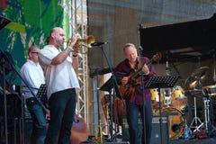 Usadba Jazz Festival Royalty Free Stock Photography