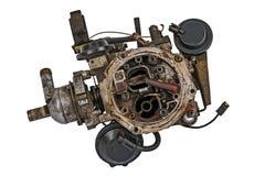 Usado carburador Imagen de archivo libre de regalías