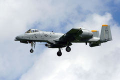 USAF A-10 Thunderbolt Royalty Free Stock Photo