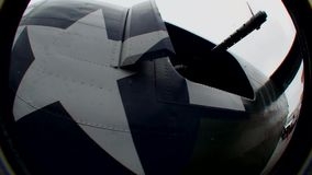 USAF B-24 Liberator WW2 Bomber - 1.  stock video