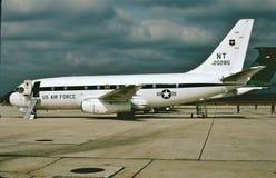 USAF Boeing τ-43A 72-0285 που χρησιμοποιείται για τους πλοηγούς κατάρτισης Στοκ φωτογραφία με δικαίωμα ελεύθερης χρήσης