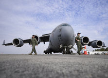 USAF C-17 Globemaster Royalty Free Stock Photo