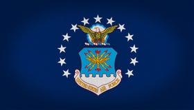 USAF flag Stock Photo