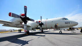 USAF Lockheed Martin P-3 Orion at Airshow 2010 Royalty Free Stock Image