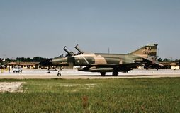 USAF McDonnell F-4C 64-0655 of the Air Force Reserve Stock Image