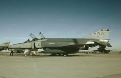 USAF McDonnell F-4E 69-7574 CN 4028 October 1, 1983. USAF McDonnell F-4E 69-7574 CN 4028 of the 35 Tactical Fighter Wing, stationed at Misawa Air Base, Japan MSJ Stock Photo