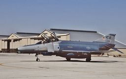 USAF McDonnell F-4G 69-7581 4485TFS August 1981 Royalty Free Stock Images