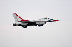 USAF Thunderbird royalty free stock image
