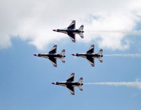 USAF Thunderbird Formation Stock Photos