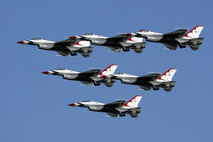 USAF Thunderbirds Royalty Free Stock Photos