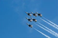 USAF thunderbirds Στοκ εικόνες με δικαίωμα ελεύθερης χρήσης