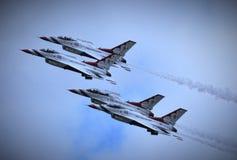 USAF Thunderbirds Στοκ Εικόνες