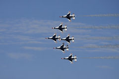 USAF Thunderbirds Airforce Show Stock Images