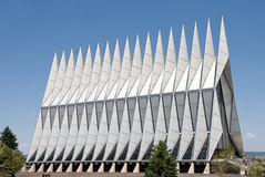 USAFA Chapel Stock Photography