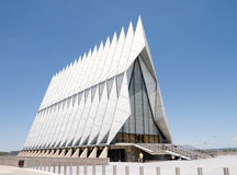 USAFA Chapel Royalty Free Stock Photos