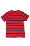 Usage du ` s d'enfants - T-shirt rayé images libres de droits