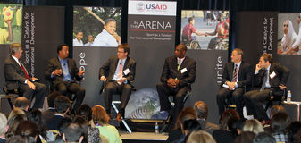 USAID - Sports as a Catalyst for international Dev Royalty Free Stock Image