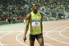 Usain Bolt Mens 100m  World Athletics Final 2009 Stock Image