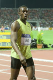 Usain Bolt Mens 100m  World Athletics Final 2009 Royalty Free Stock Photo