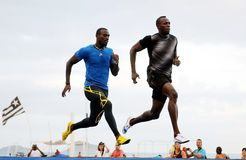 Usain Bolt stock image
