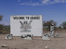 Usakos royalty free stock photography
