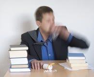 Usando drogas Imagens de Stock