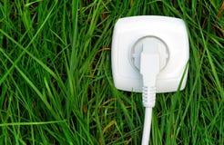 Usando energia verde Immagine Stock Libera da Diritti