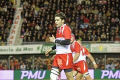 USAP contra Biarritz - rugby francês da parte superior 14 Foto de Stock